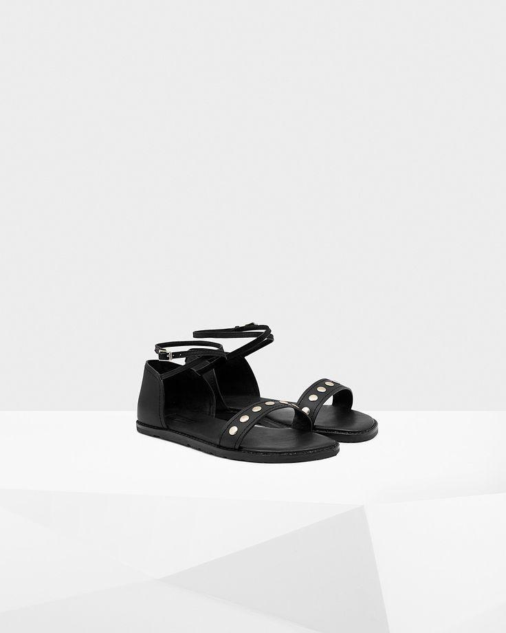 Sandalias para mujer Original de cuero tachonadas | Página web oficial de Hunter Boots
