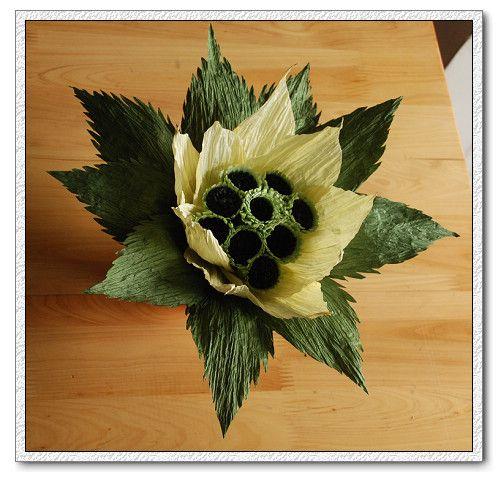 paper flower 雪莲花