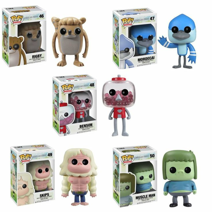 Funko Pop Regular Show Vinyl Figures