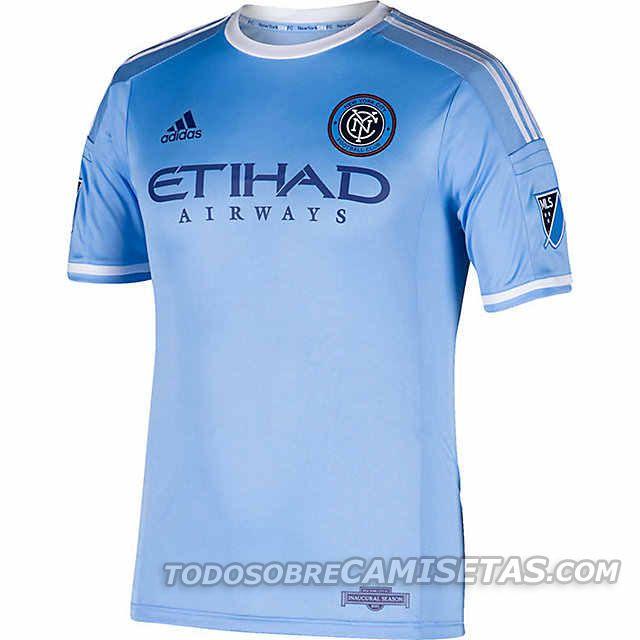 New York City FC Adidas Home Kit 2015 | Todo Sobre Camisetas Todo Sobre Camisetas