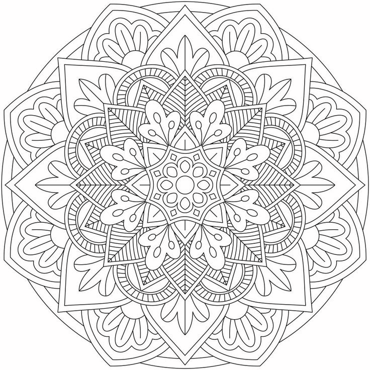 mandala monday free download to colour in 9