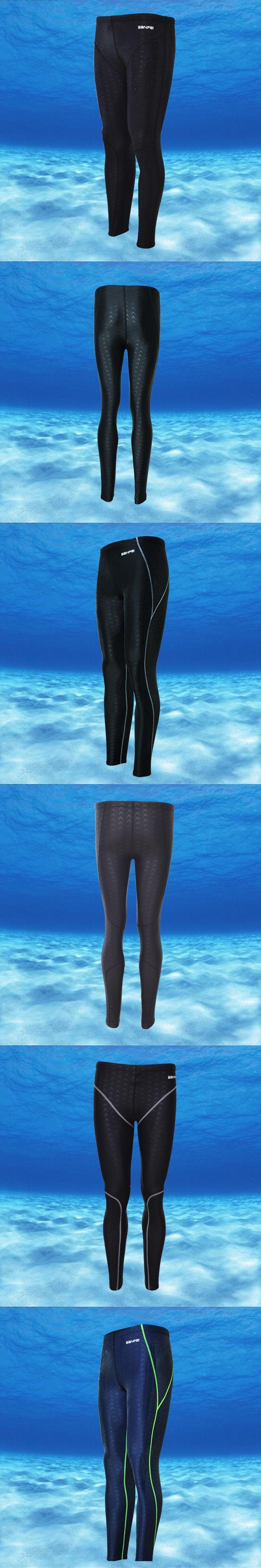 Free Shipping Swimwear Long Men's Swimsuit sharkskin water repellent men's swimming trunks Sport classic men swimwear