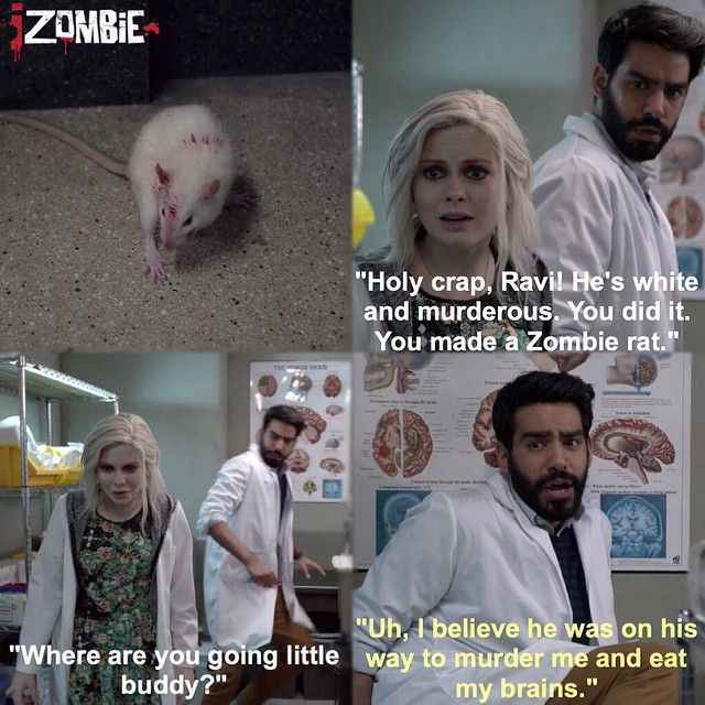 "#iZombie 1x08 ""Dead Air"" - Liv and Ravi"