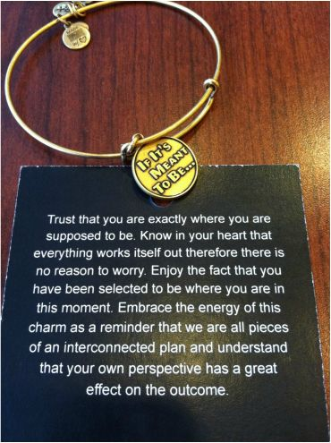 Best Alex and Ani bracelet :) #giftidea