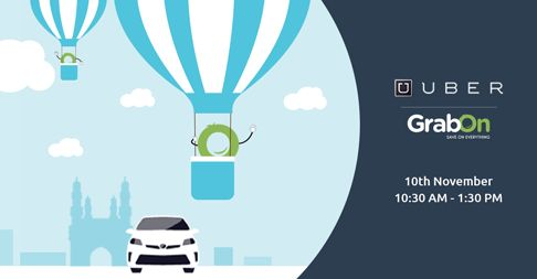 Are You Ready For The Hot Air Balloon Ride? Use #GrabOn Code & Request For A #Uber Ride! http://www.grabon.in/uber-coupons/