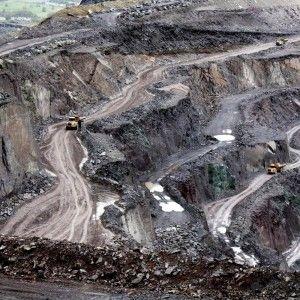 Сланцевый карьер Welsh Slate Penrhyn, Северный Уэльс, Великобритания