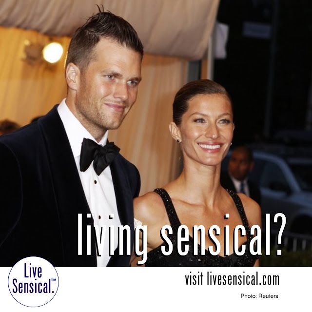 Living Sensical? Gisele Bundchen - Tom Brady - Divorce - New England Patriots - Victoria's Secrets