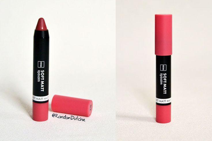 Hema soft matt lip balm pink 2 review