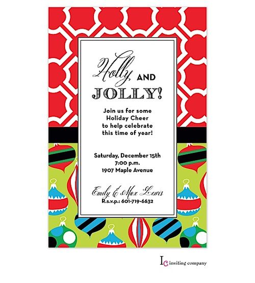 34 Best Images About Ornament Exchange Party Invitations