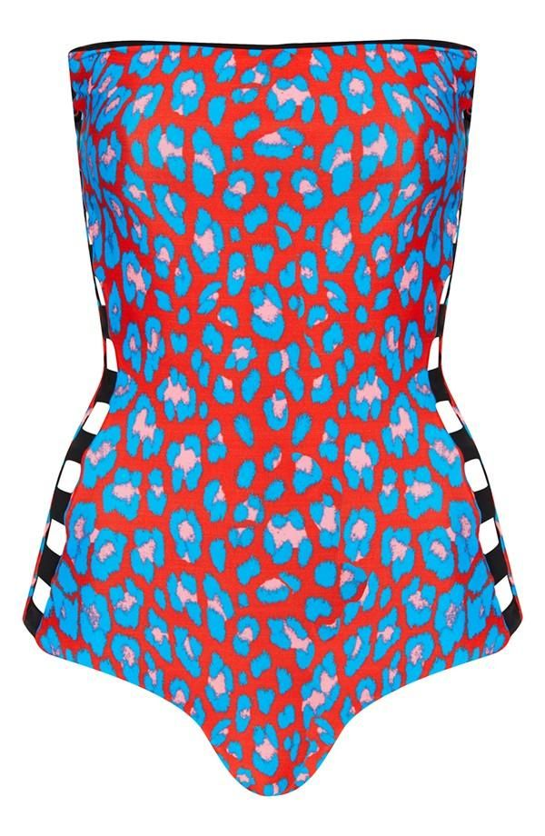 Love! Reversible One-Piece Swimsuit.