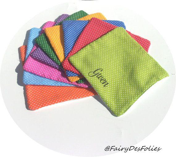 Serviette personnalisée spéciale famille developpement durable coton absorbant