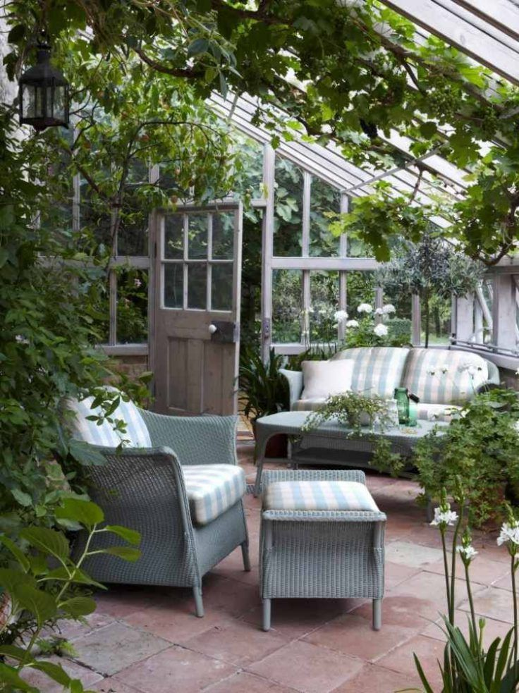 Jardins D Hiver On Craque Pour Ces 30 Salons De Reve Jardin D Hiver Amenagement Jardin Decoration Veranda