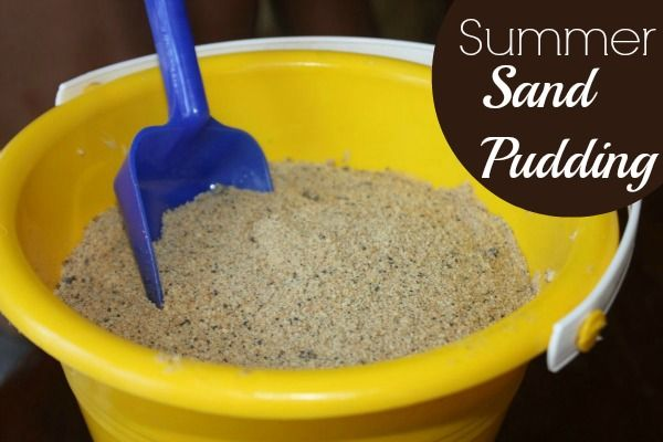 Summer Sand Pudding- good for the sugar eaters!