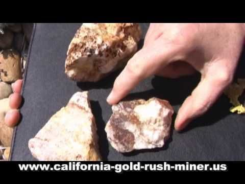 Gold Ore - Gold - Gold nuggets - Gold prospecting - gold detecting - nugget hunting
