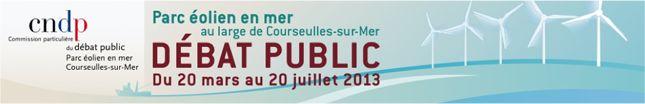Réunion débat sur le parc éolien en mer 2013 à OUISTREHAM. Le jeudi 20 juin 2013 à OUISTREHAM.