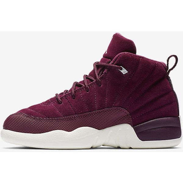 213fb83dca2 Air Jordan 12 Retro (10.5c-3y) Little Kids  Shoe. Nike.com ❤ liked on Polyvore  featuring shoes