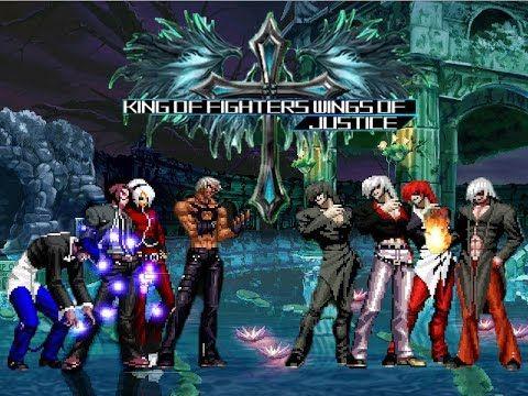 KOF WOJ Darkness ~ Orochi Protagonist Team vs Family Element