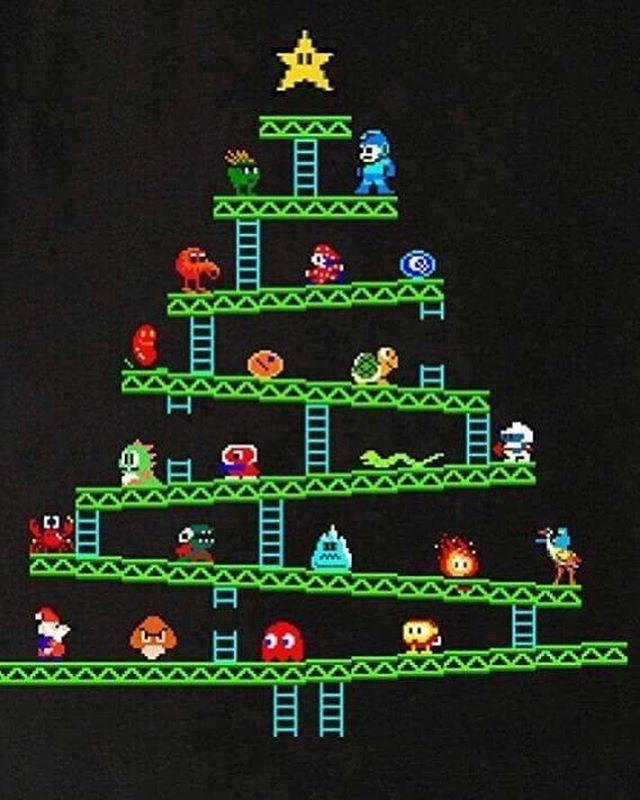 Joyeux Noël Nintendo Videojuegos Retro Games Videojuegos
