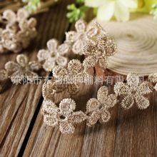 Vintage decorazione di cerimonia nuziale fiori di cotone lace evento rifornimento del partito hairband accessorio(China (Mainland))