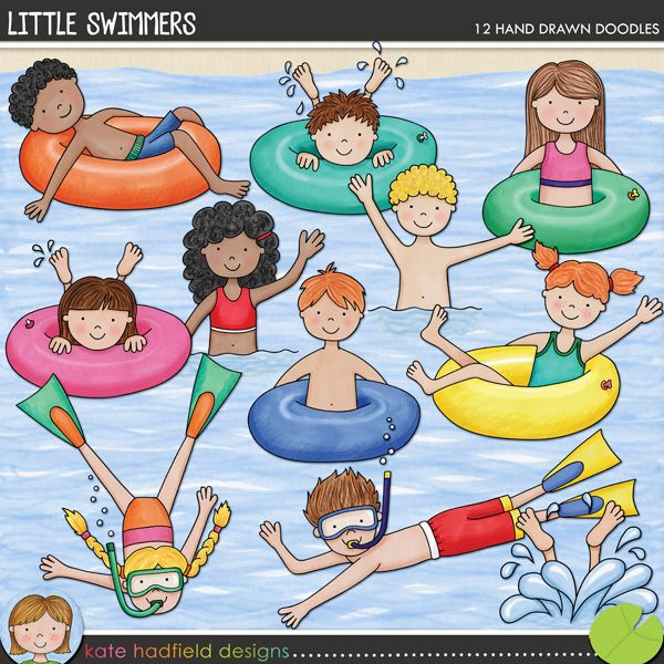 The Lilypad :: Element Packs :: Doodles :: Little Swimmers