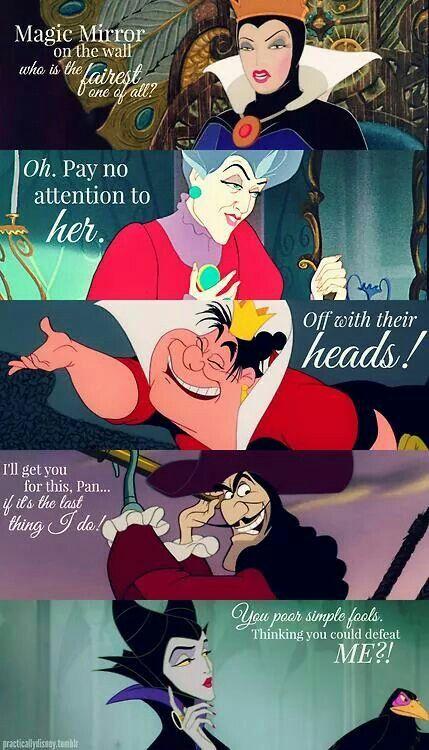 Disney Villains Quotes (part 1)