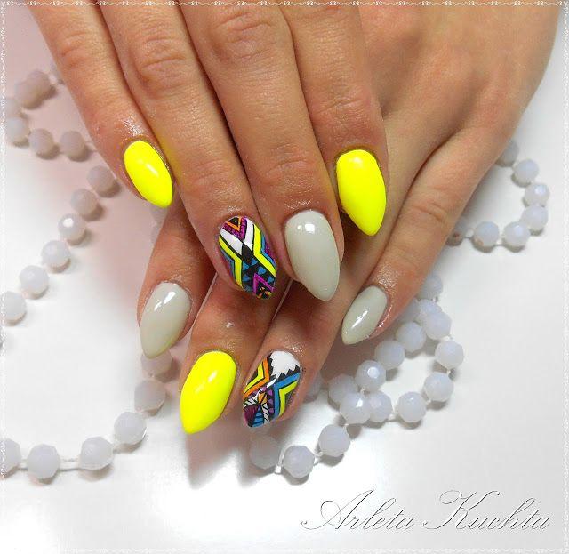 Studio stylizacji paznokci Butterfly: Azteckie paznokcie
