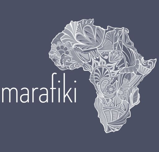 these tshirts are for sale to raise money for a kenyan orphanage! marafiki means friends in swahili!!