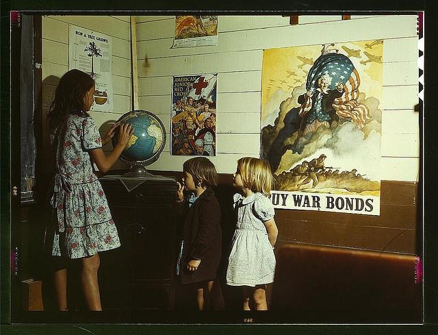 1943 April, Texas: April 1943, Augustine County, San Augustine, Rural School, Schools, Color, Texas, Photo, School Children
