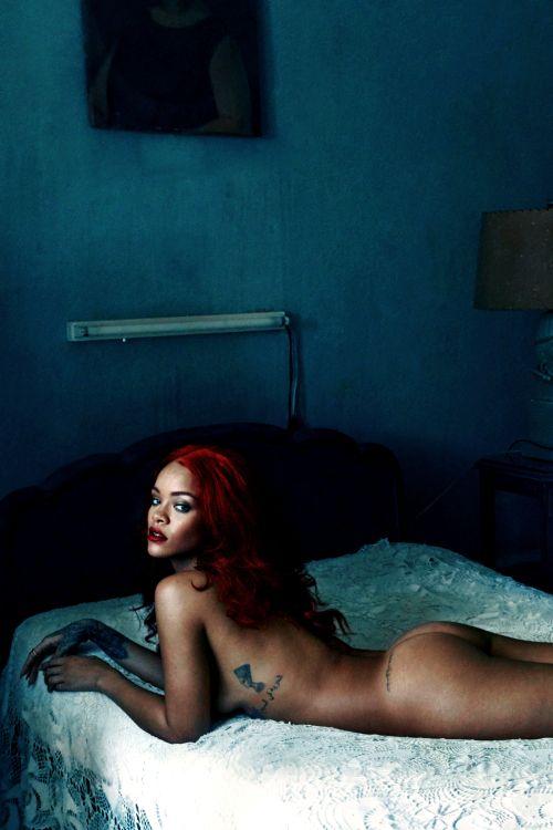Rihanna by Annie Leibovitz for Vanity Fair