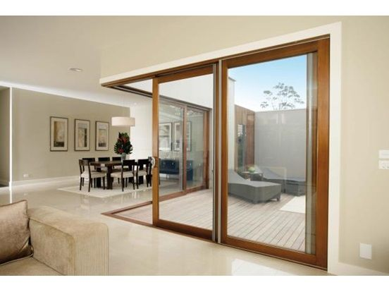 Would like these doors between our kitchen deck and for Stacking doors