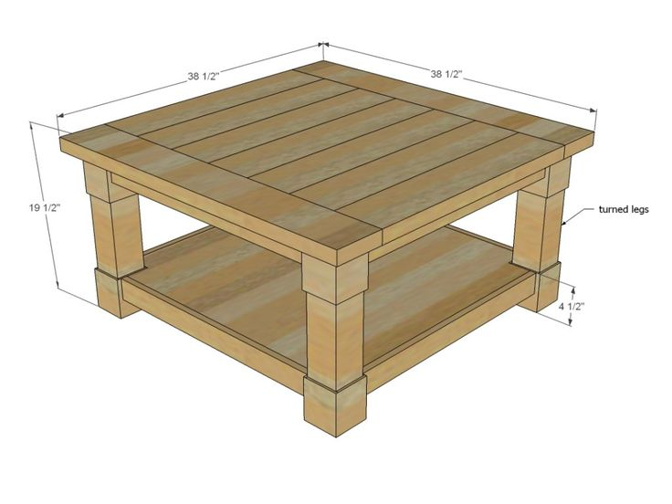 coffee table dimensions | nick boynton furniture