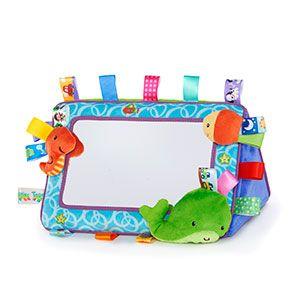 Kids II, Inc - Tag n' Smile Plushie Mirror™
