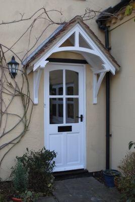 Timber door canopies- traditional cottage canopies - front door ...