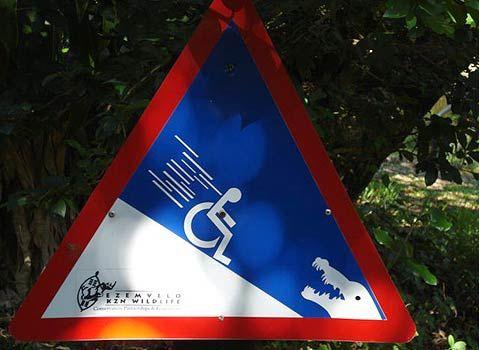 Wheelchairs - Danger ahead