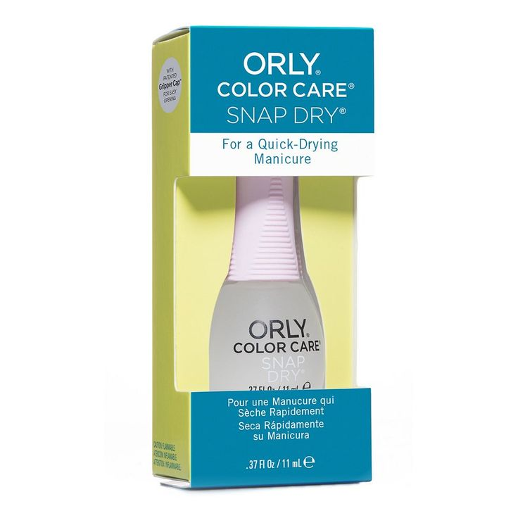 Orly Color Care Snap Dry Nail Treatment, Multicolor