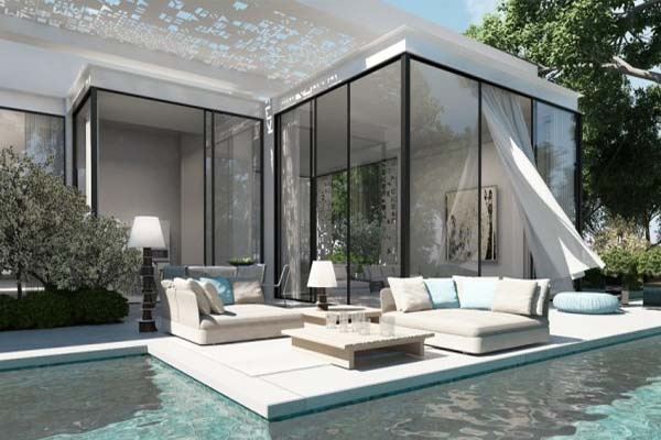 Zen pool at garden design ideas with beautiful scenery for Zen pool design