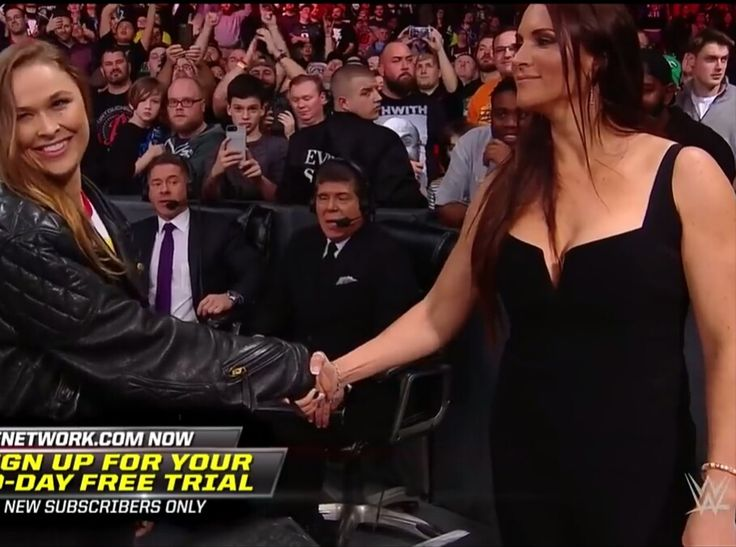 Stephanie mcmahon hot boobs in royal rumble 2018