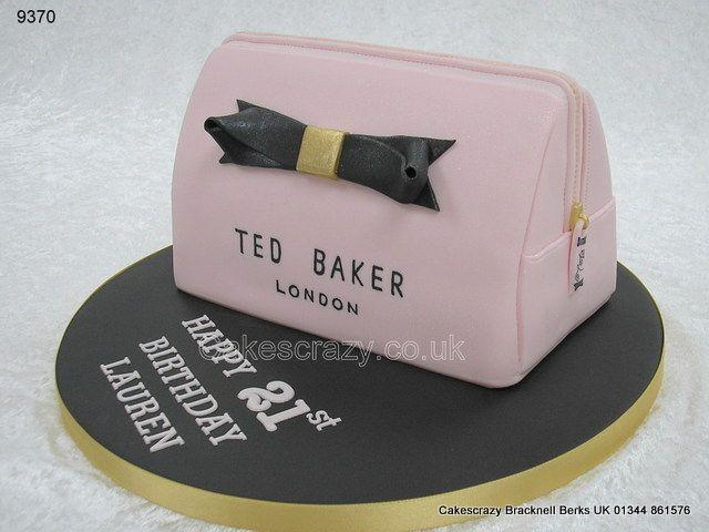Ted Baker make up bag http://www.cakescrazy.co.uk/details/ted-baker-makeup-bag-cake-9370.html