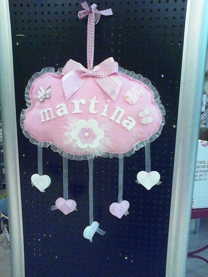 389 fantastiche immagini su birth wreath fiocchi nascita - Viola martina porta ...