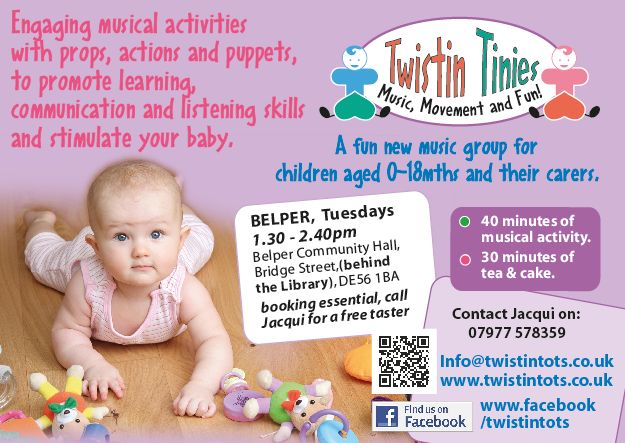 wild ideas and client and the half page tinies advert a6 daycare