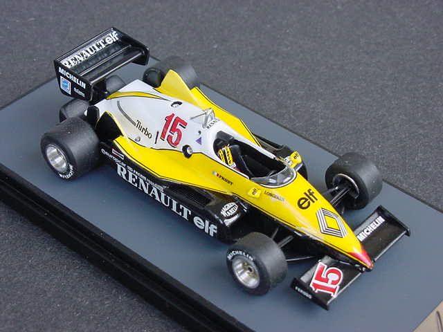 1983 Renault RE40 F1 Alan Prost