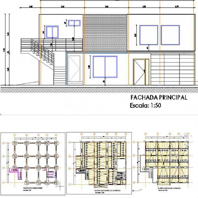 Ingeniero civil se hacen proyectos de calculo estructural for Libros de planos arquitectonicos