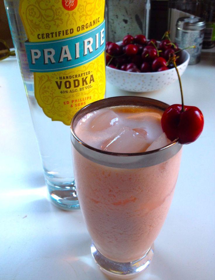 the Vishnya Vanil': cherry vanilla infused prairie vodka