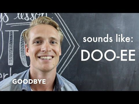 DUTCH // Basic Words + Phrases for Travelers - YouTube