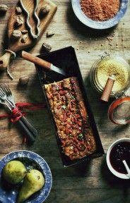 Warzywny pasztet jaglany z soczewicą i goją
