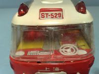 Friction Tin Toy Model Bus Number Plates: ST-529 Made in China - MF 910