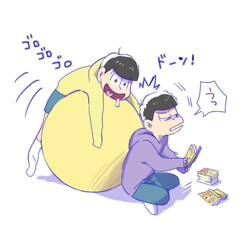 「おそ松さんらくがきまとめろぐ」/「コトネ・ア」の漫画 [pixiv]
