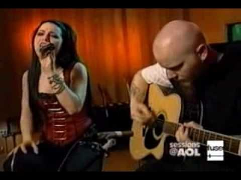Evanescence - bring me to life acoustic live aol Who says that acoustic performances suck? NOT ME THAT'S FOR SURE!