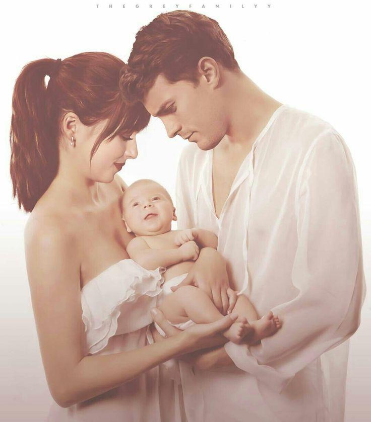 Christian ♡ Ana  'Family Grey'