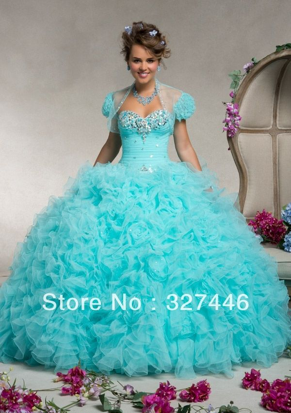 1000  images about quinceanera dresses on Pinterest | Tiffany blue ...